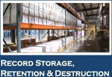 Record Storage Retention & Destruction